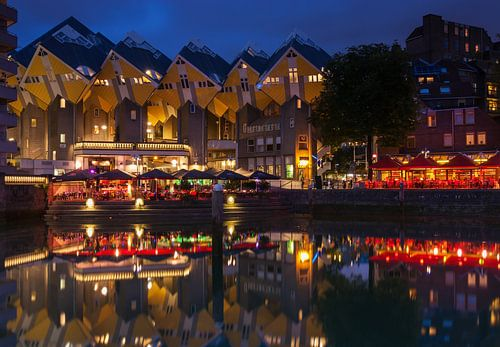 Kubuswoningen Rotterdam van Ilya Korzelius