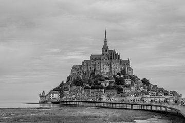 Schitterend zicht op Mont Saint Michel van Peter Voogd