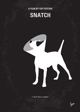 No079 My Snatch minimal movie poster van Chungkong Art