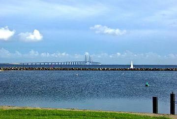 Oresund brug Øresundsbroen, Öresundsbron van Norbert Sülzner