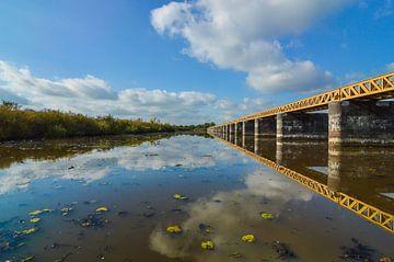 Moerputten spoorbrug nabij 's Hertogenbosch, Den Bosch