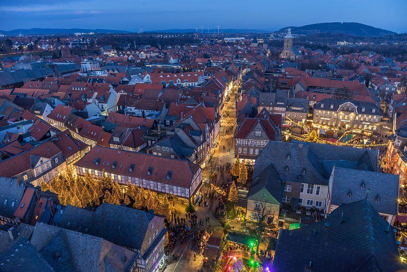 Goslarer Weihnachtsmarkt van Patrice von Collani