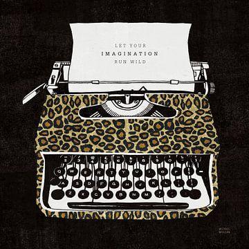 Analoge jungle typemachine, Michael Mullan van Wild Apple