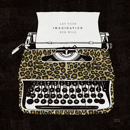 Analoge jungle typemachine, Michael Mullan