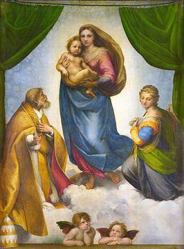 The Sistine Madonna, Rafaël