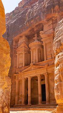 Das Schatzamt in Petra (Jordanien) von Jessica Lokker