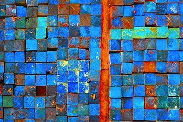 Oranje lijn sur Sonja Pixels