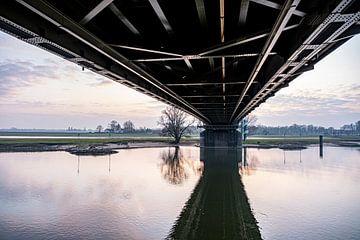 Brücke bei deventer2 von Ben van Damme