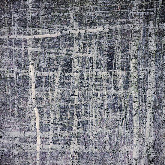 De berk is een meester in abstractie