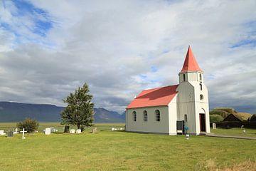 Kerkje in IJsland van Carin van der Aa