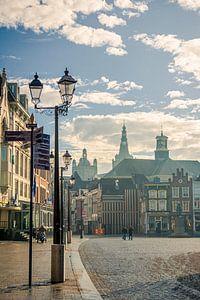 De Markt in Den Bosch van Angela Versteijnen