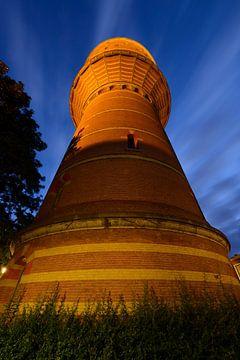 Watertoren aan de Lauwerhof in Utrecht von Donker Utrecht
