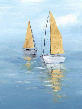 Golden Sail II, Isabelle Z  von PI Creative Art