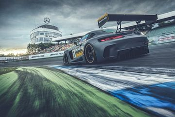 Mercedes-AMG GT3 sur Gijs Spierings