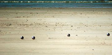Jeu de boules spelen (breedbeeldfoto)