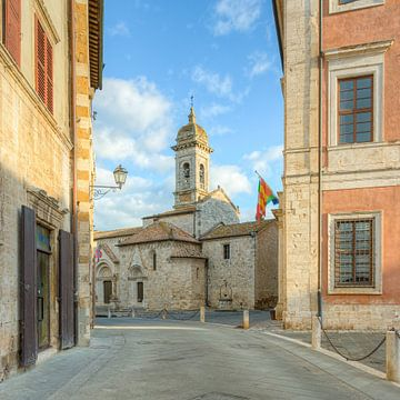 San Quirico d'Orcia in Toscane