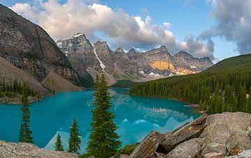 Moraine Lake, Banff National Park, Alberta, Canada von Alexander Ludwig