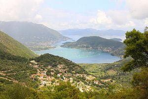 Katochori en de baai van Vlicho / Lefkada eiland