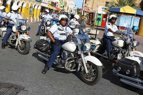politie op motors