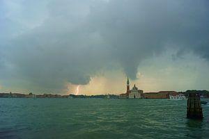 Bliksem in Venetië