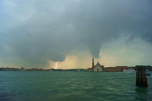 Onweer in Venetië