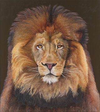 König Löwe von Russell Hinckley