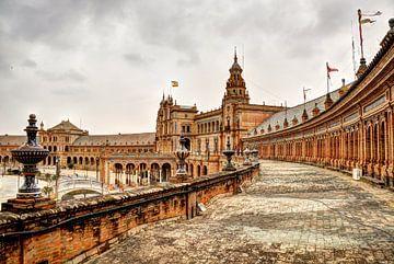 Plaza de España ( balkon ) von Rene Albers