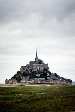 Een wonderlijk uitzicht op Mont Saint-Michel van