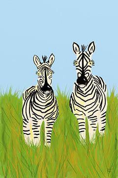 Zebras van Andrea Meyer