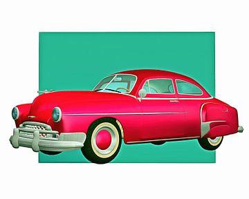 Klassieke auto – Oldtimer Chevy de klassieke Chevrolette