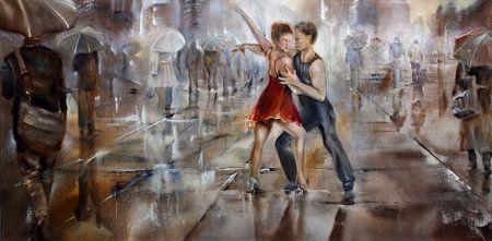 It`s raining again van Annette Schmucker