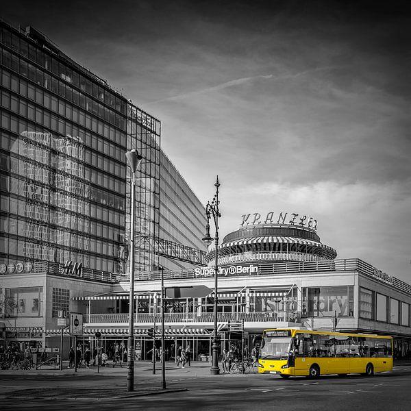 BERLIN Kurfürstendamm / Joachimsthalerstrasse van Melanie Viola