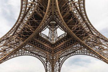 Der Eiffelturm in Paris von MS Fotografie | Marc van der Stelt