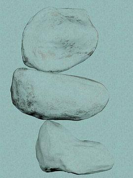 Bilanz 4 - Abstrakte organische Formen von Maurice Dawson