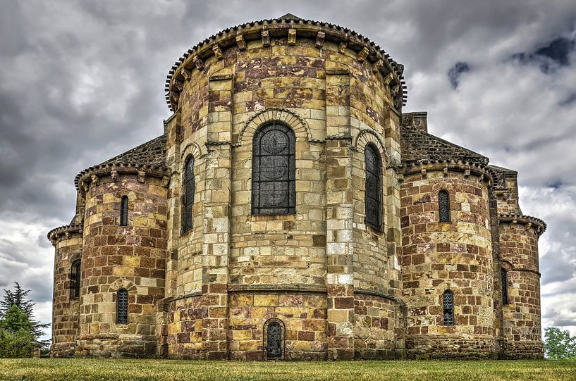 De kerk van Saint-Désiré van Frans Blok