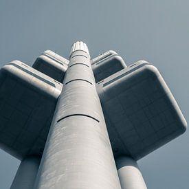 Praag: TV toren Žižkov van Olaf Kramer