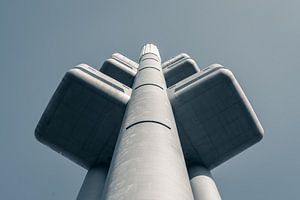 Praag: TV toren Žižkov van