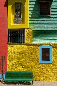 Kleurrijk La Boca van