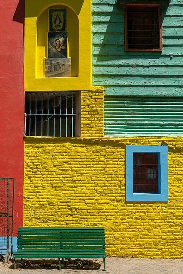 Kleurrijk La Boca van Gerry van Roosmalen