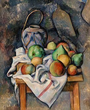 Krug mit Ingwer, Paul Cézanne (ca. 1895) von Atelier Liesjes