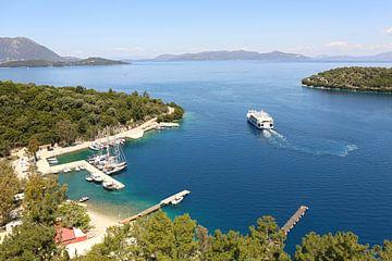 Vathy haven /Meganisi eiland Griekenland