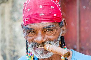 Cubaan met cubaan in Havana - Cuba