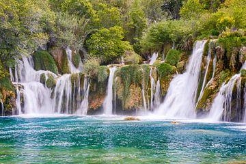 Krka watervallen van Tim Vlielander