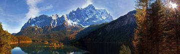 Eibsee Herbstpanorama von Hans van den Beukel