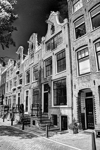 Jordaan Bloemgracht Amsterdam Nederland Zwart-Wit
