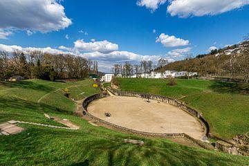 Het Amphitheater, Trier (Duitsland) van Martijn Mureau