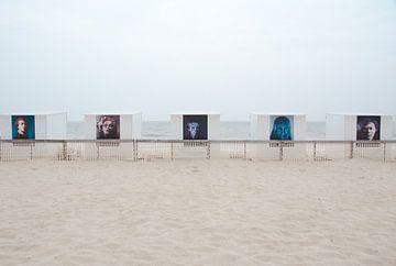 Beach Cabins von Steven De Baere