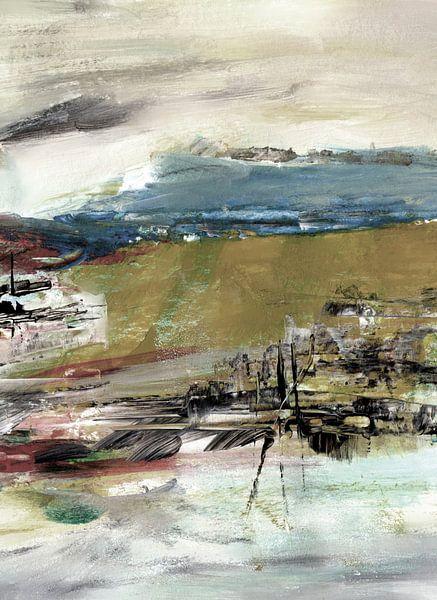 abstraktes Land von Claudia Gründler