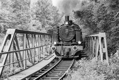 Steam locomotive van