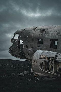 Sólheimasandur vliegtuigwrak I van Colin van Wijk